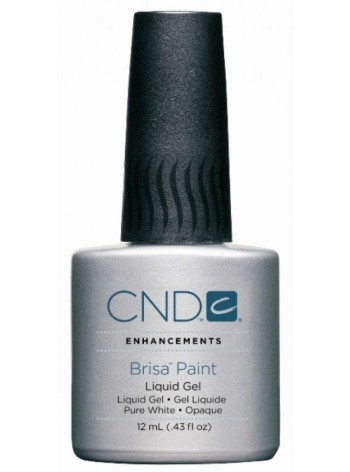 Pure White - Opaque * CND Brisa Paint