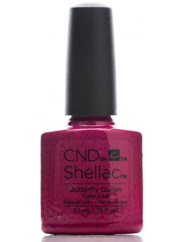 Butterfly Queen * CND Shellac