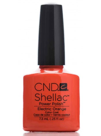 Electric Orange * CND Shellac