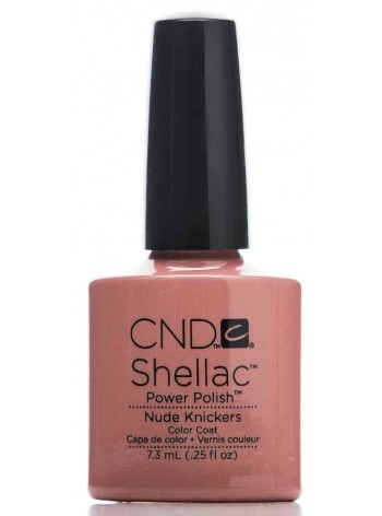 Nude Knickers * CND Shellac