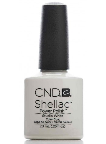 Studio White * CND Shellac