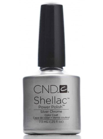 Silver Chrome * CND Shellac