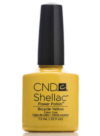 Bicycle Yellow * CND Shellac