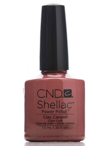 Clay Canyon * CND Shellac