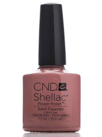 Satin Pajamas * CND Shellac