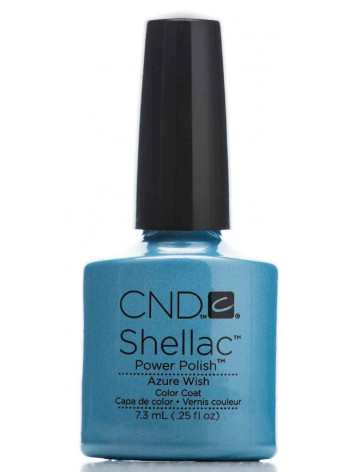 Azure Wish * CND Shellac