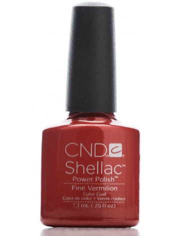 Fine Vermillion * CND Shellac