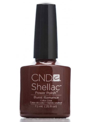 Burnt Romance * CND Shellac