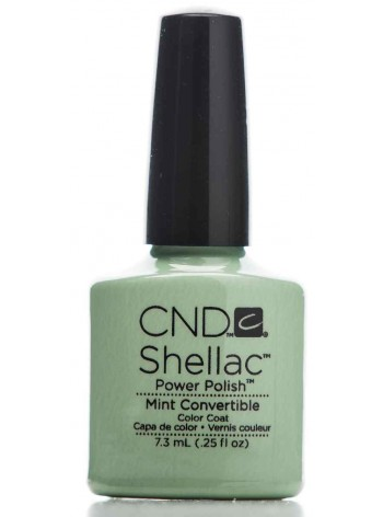 Mint Convertible * CND Shellac