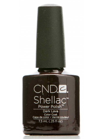 Dark Lava * CND Shellac