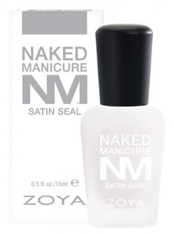 Zoya Naked Manicure Satin Seal Top Coat