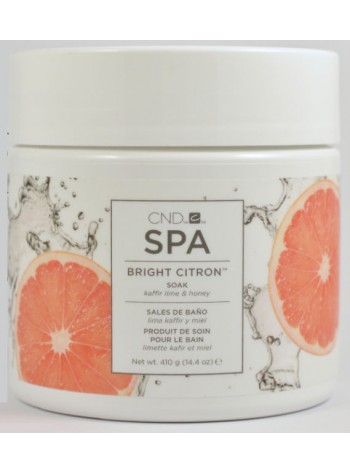 Bright Citron Soak * CND SPA
