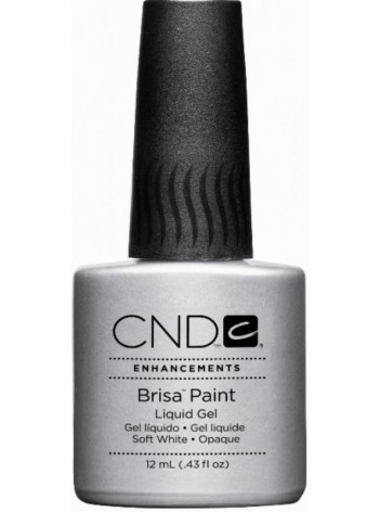 Soft White - Opaque * CND Brisa Paint