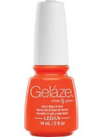 Orange Knockout * China Glaze Gelaze