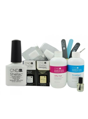CND Shellac Studio White Starter Kit
