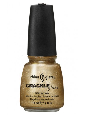 Tarnished Gold * China Glaze Crackle