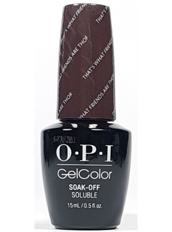 That's What Friends Are Thor * OPI Gelcolor