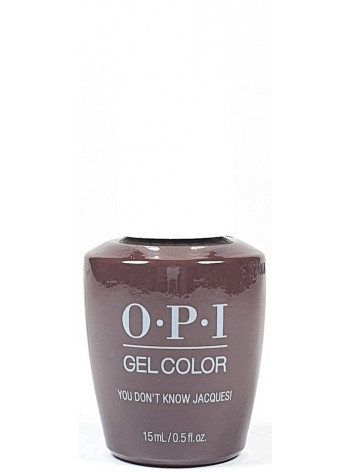 You Don't Know Jacques * OPI Gelcolor