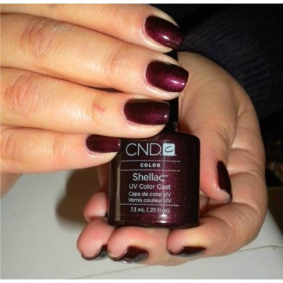 Dark Lava Cnd Shellac Enails Eu
