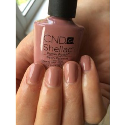 Satin Pajamas Cnd Shellac Enails Eu