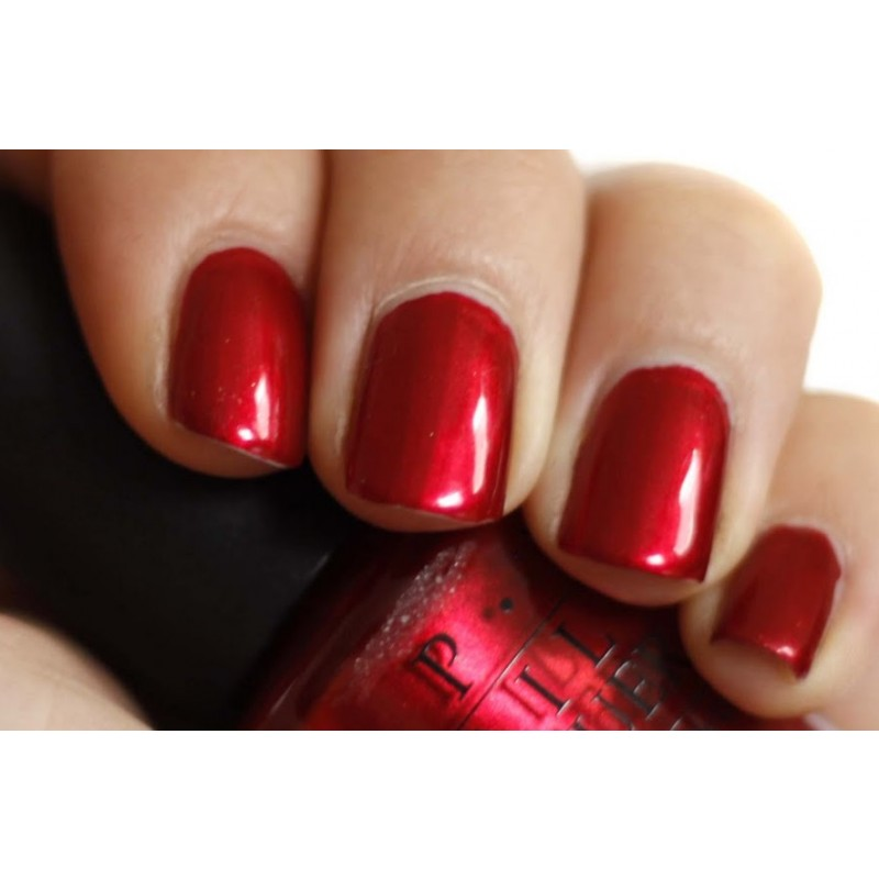 Nail Lacquer Opi Infinite Shine An Affair In Red Square Fancybox