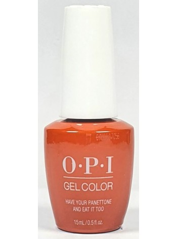 Have Your Panettone and Eat it Too * OPI Gelcolor