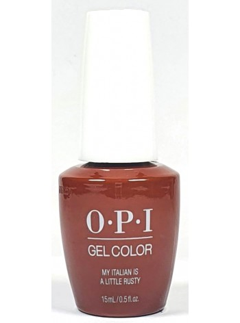 My Italian is a Little Rusty * OPI Gelcolor