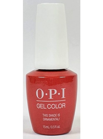 This Shade is Ornamental * OPI Gelcolor