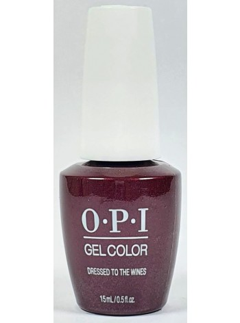 Dressed to the Wines * OPI Gelcolor