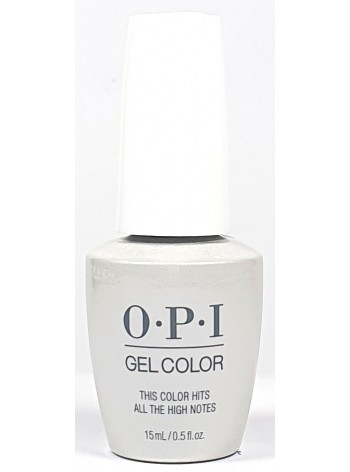 This Color Hits all the High Notes * OPI Gelcolor