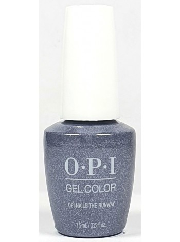 OPI Nails the Runway * OPI Gelcolor