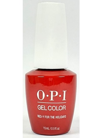 Red-y For the Holidays * OPI Gelcolor