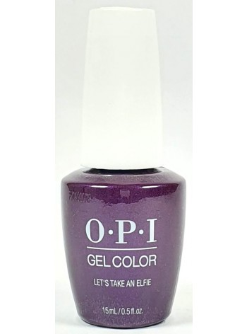 Lets Take an Elfie * OPI Gelcolor