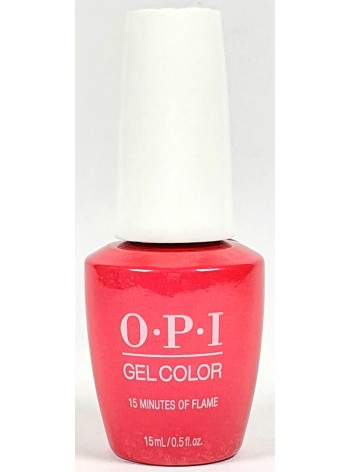 15 Minutes Of Flame * OPI Gelcolor
