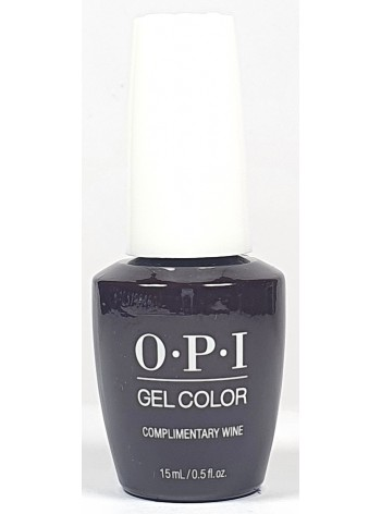 Complimentary Wine * OPI Gelcolor