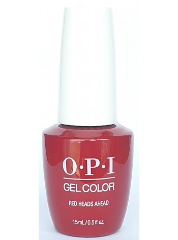 Red Heads Ahead * OPI Gelcolor