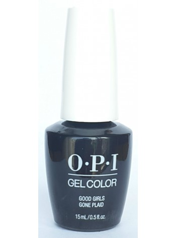 Good Girls Gone Plaid * OPI Gelcolor