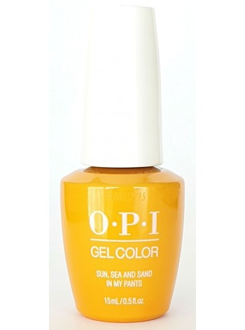 Sun Sea and Sand in My Pants * OPI Gelcolor