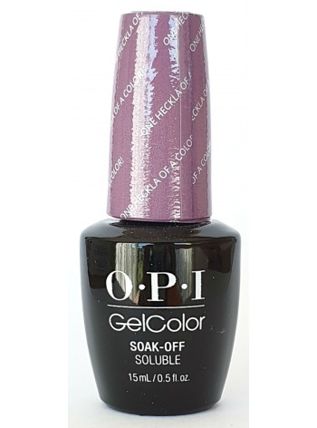 One Heckla Of A Color! * OPI Gelcolor