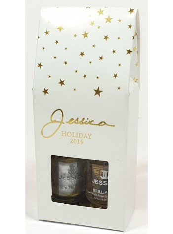 Jessica 2019 Holiday Starlights Minis Pearly Platinum