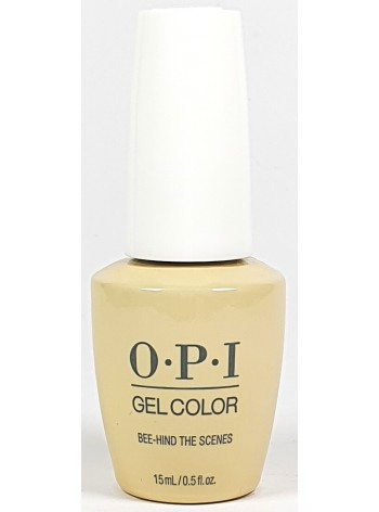 Bee-Hind The Scenes * OPI Gelcolor