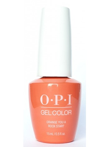 Orange You A Rock Star? * OPI Gelcolor