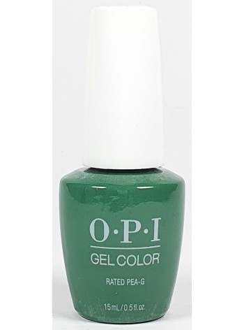Rated Pea-G * OPI Gelcolor