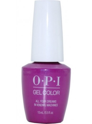 All Your Dreams In Vending Machines * OPI Gelcolor