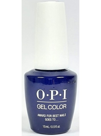 Award For Best Nails Goes To… * OPI Gelcolor