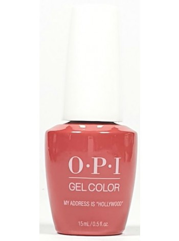 "My Address Is ""Hollywood"" * OPI Gelcolor"