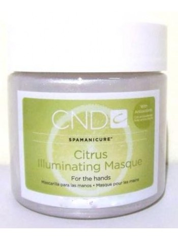 Citrus Illuminating Masque * CND Spamanicure
