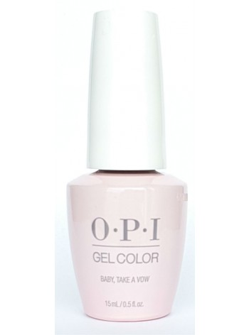 Baby Take A Vow * OPI Gelcolor
