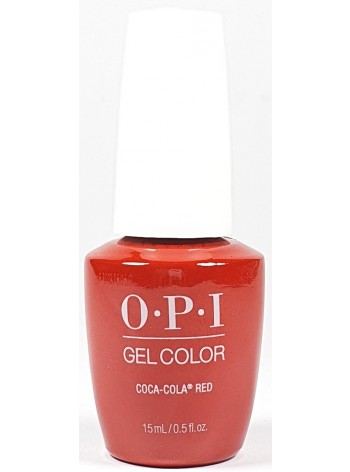 Coca-Cola Red * OPI Gelcolor