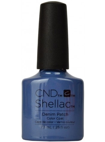 Denim Patch * CND Shellac